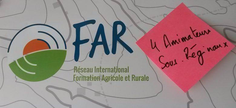 Quatre animateurs sous régionaux viennent rejoindre le Secrétariat Exécutif du Réseau FAR