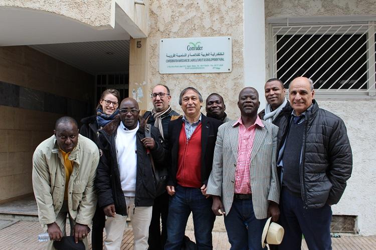 Un premier atelier de travail à Rabat entre les animateurs régionaux, le Secrétariat Exécutif et le Bureau du Réseau international FAR
