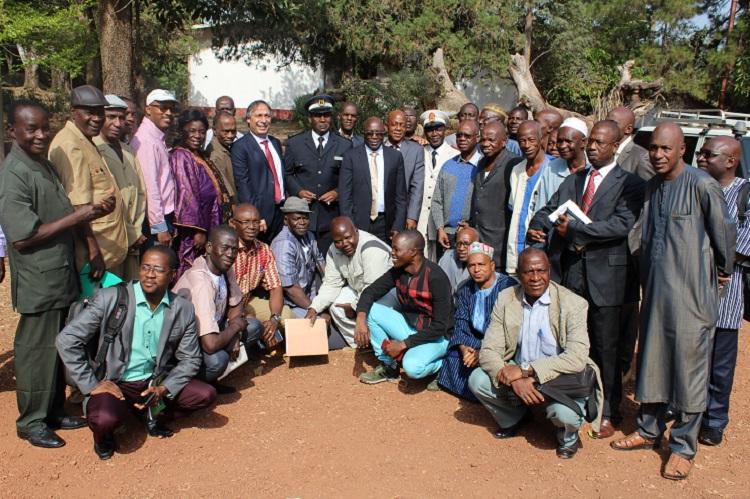 Les acteurs de la FAR de la République de Guinée réunis à Mamou pour le lancement officiel de la SNFAR